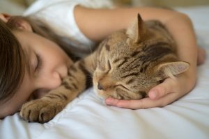 A Study Shows There May Be a Link Between Cats and a Reduction in Asthma Symptoms in Children