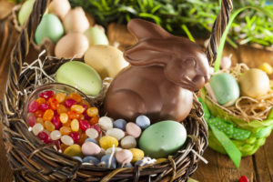 Planning for Food Allergies with Easter Candy Baskets