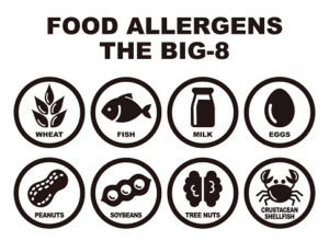 The Top Food Allergies